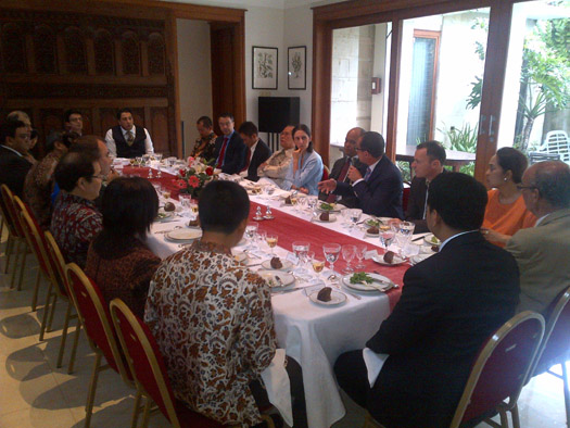 Jamuan Makan Siang Bisnis Bersama Para Pelaku Industri Teknologi