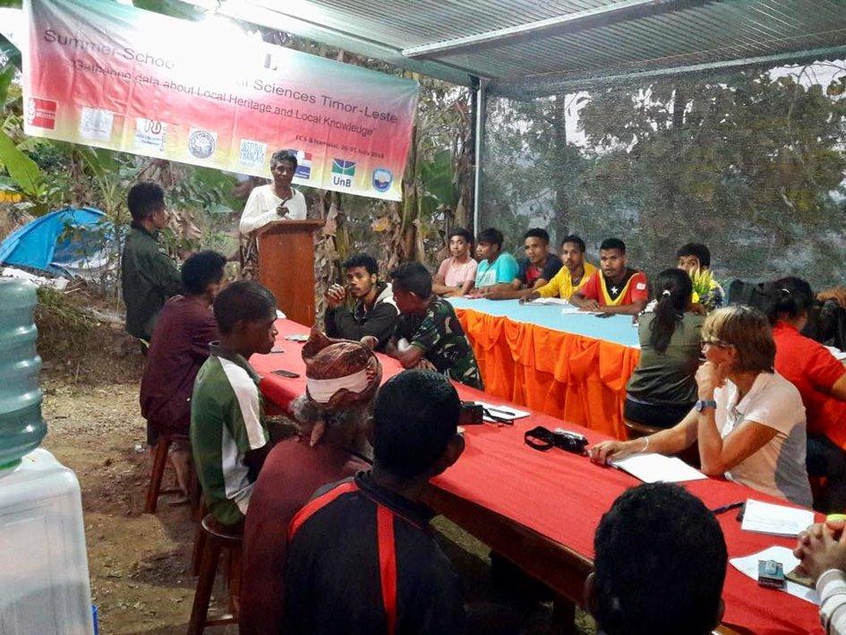 Le bureau français de coopération à timor est organise la première
